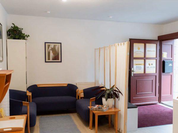 Eingangsbereich Hebammenpraxis Adam & Eva Dresden